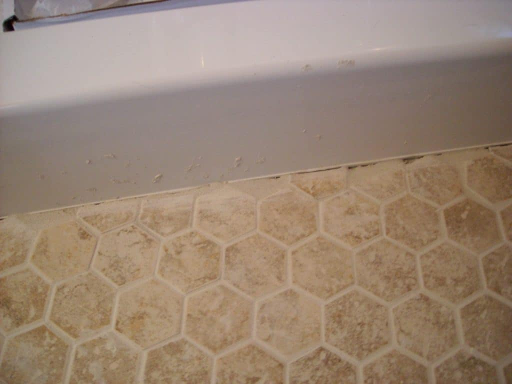 I Tiled the Shit Out of our Master Bathroom width=