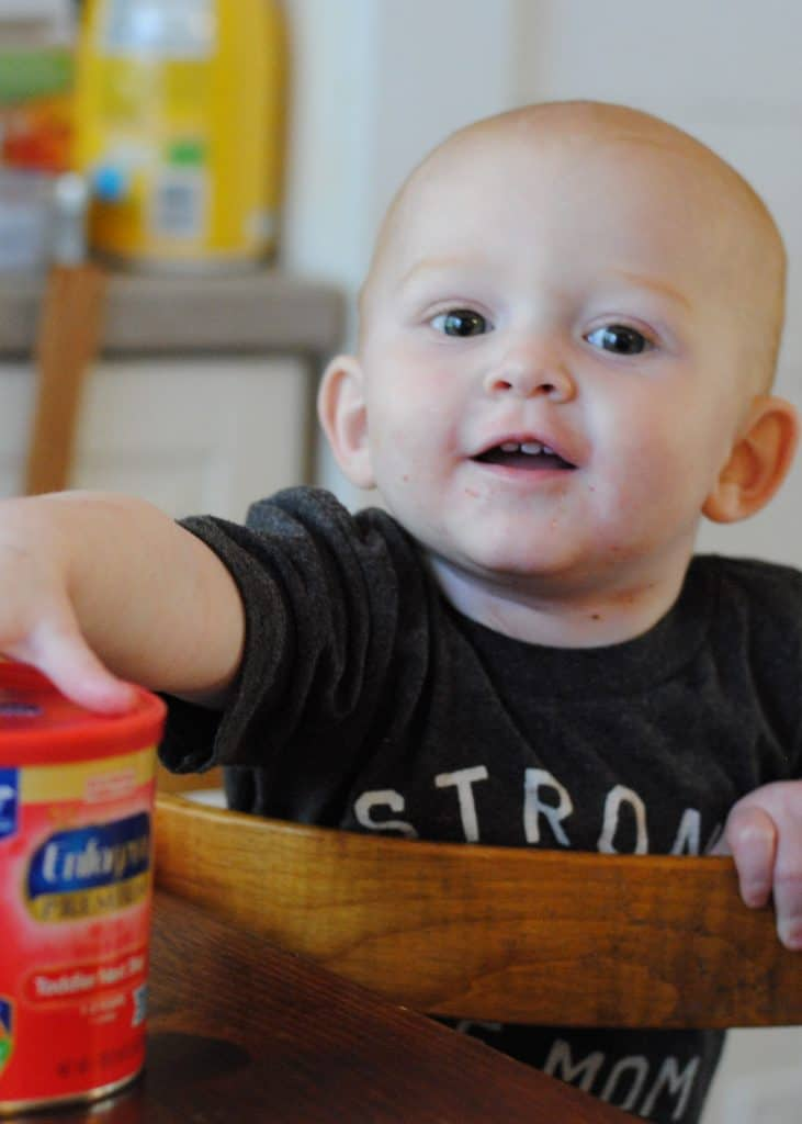Feed a Toddler's Brain and Body with Enfagrow® Toddler Next Step™ #AD