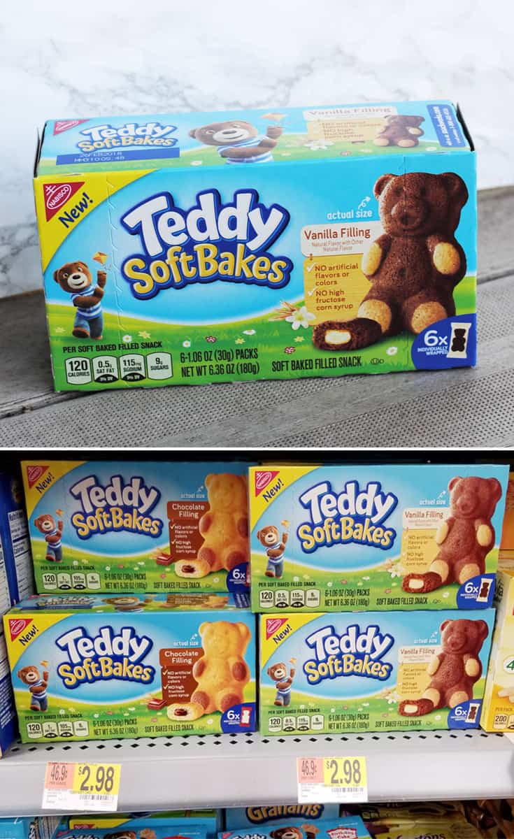 Afternoon Snack Time with Melanie and TEDDY SOFT BAKED Filled Snacks #WalmartSnacks2Go #IC #ad