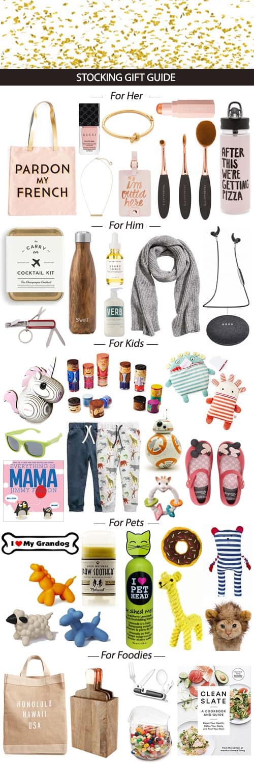 2017 Stocking Gift Guide #Christmas #stocking #stockingstuffers #holidays #gifts #presents #shopping