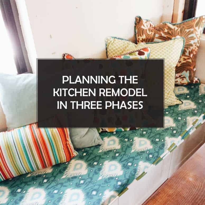 Planning the Kitchen Remodel in Three Phases and We Get Our Redneck On #DIY #homeimprovement #remodel #kitchen #home