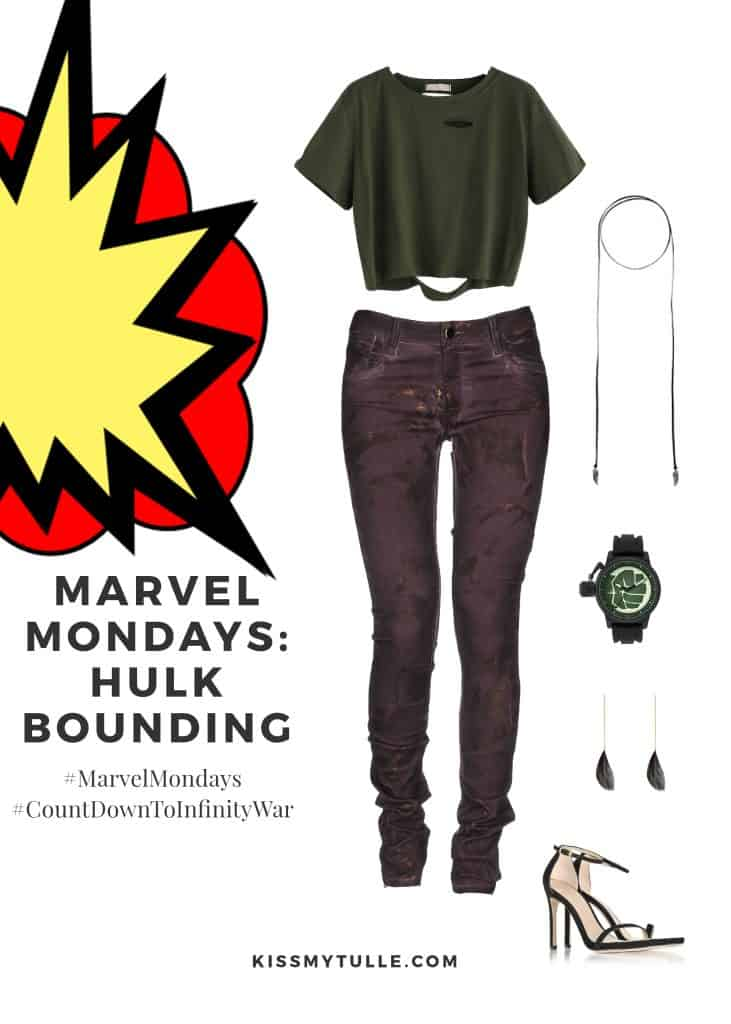 Texas Mom Blogger, Kiss My Tulle, is sharing a little Hulk bounding for y'all - the Big Green Guy is a huge hit in our house. #MarvelMondays #HulkBounding #MarvelBounding #MarvelMovies #Hulk #CountDownToInfinityWar