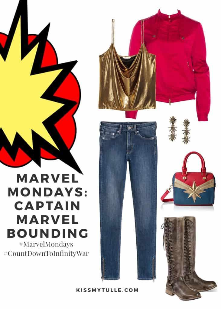 Marvel Mondays: Captain Marvel Bounding #MarvelBounding #MarvelMovies #CaptainMarvel #CountDownToInfinityWar #MarvelMondays