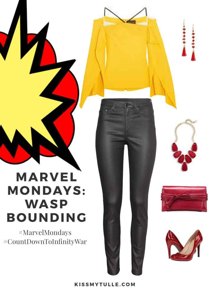 Texas Mom Blogger, Kiss My Tulle, is sharing this Wasp bounding! #MarvelMondays #WaspBounding #MarvelBounding #MarvelMovies #AntManandWasp #Wasp #CountDownToInfinityWar