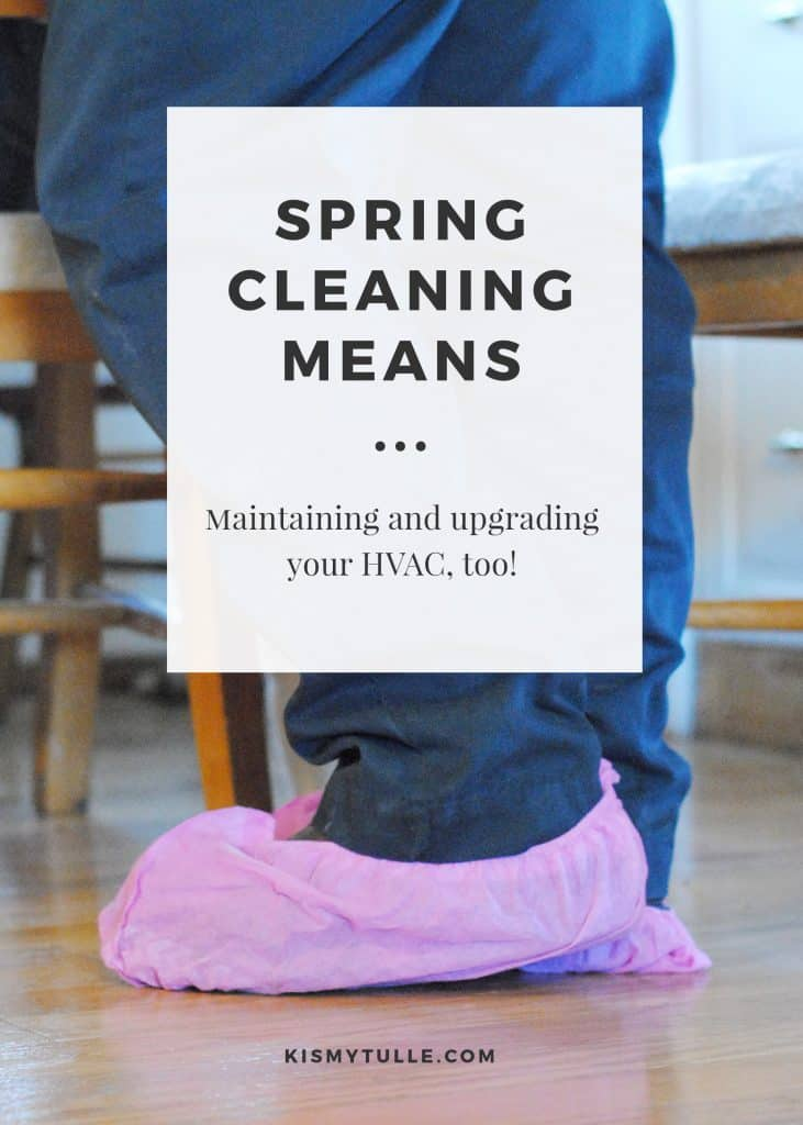 It's spring cleaning time and that means that every single nook and cranny in my home is getting scrub and shined. Did you know that spring cleaning means it's also time to maintain and upgrade your HVAC system, too? AD #OneHourComfort