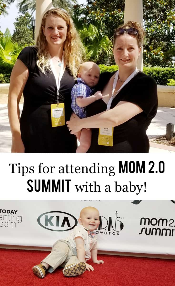 Texas Blogging Mom, Kiss My Tulle, offers tips for attending Mom 2.0 Summit with a baby.